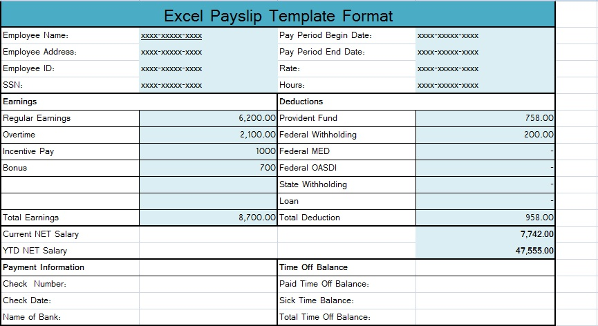malaysia payslip template image collections template